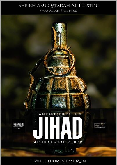 Abu Qatada Message on Jihad in Syria.JPG