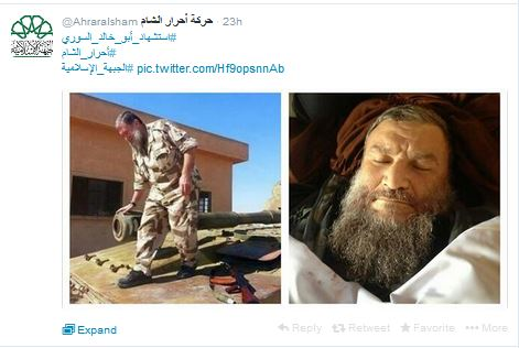 Ahrar al Sham posts Abu Khalid 2.JPG