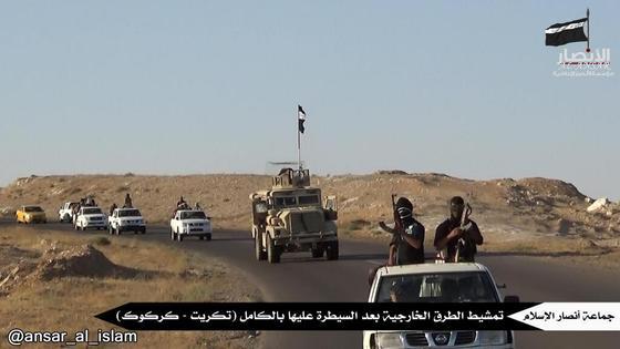 AAI members patrolling Tikrit Kirkuk road.jpg