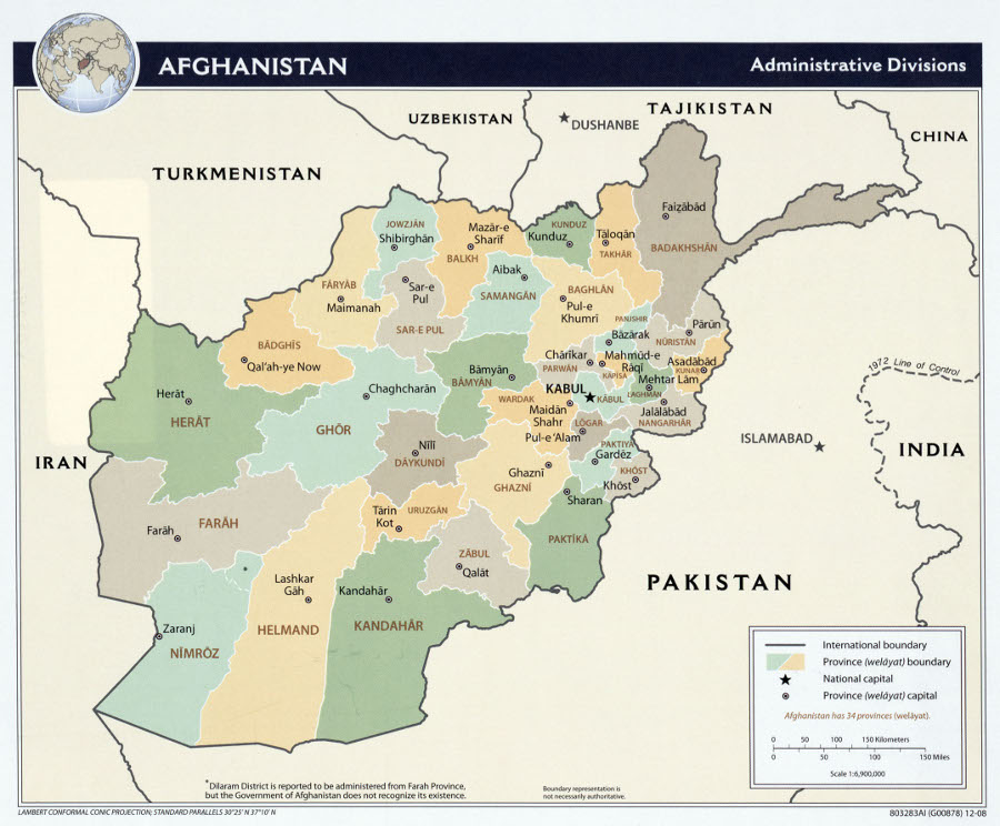 ISAF Captures Islamic Movement Of Uzbekistans Top Commander For - Us invasion of afghanistan everyday map