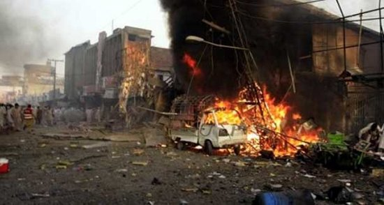 What suicide attack aftermath something