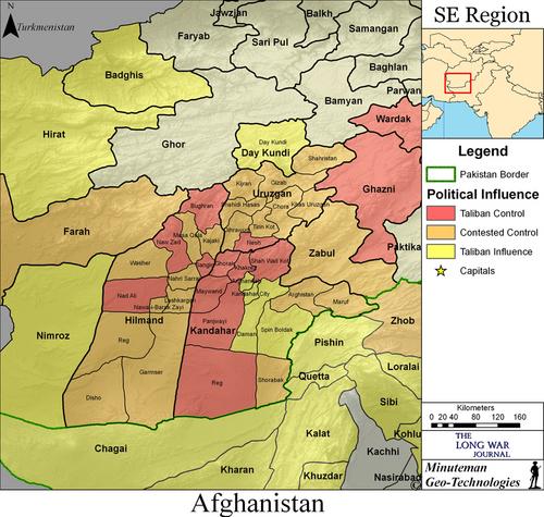 Al Qaeda Shadow Army camps located in northern Helmand ...