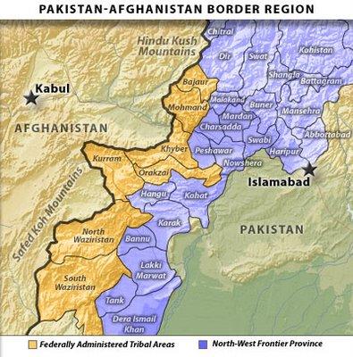 PakistanmapFATANWFPjpg - Kohat map