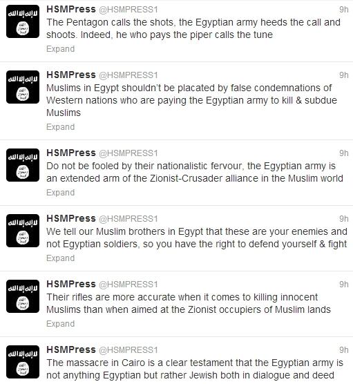 Shabaab Tweets on Muslim Brotherhood Crackdown August 19 2.jpg
