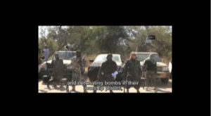 Abubakar Shekau adjusting his crotch