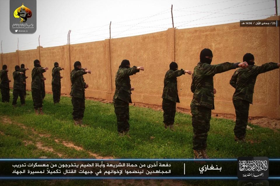 Mujahideen Training Camps Ansar-al-sharia-training Camp