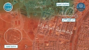 15-07-02 Ansar al Sharia map Aleppo