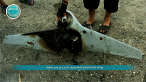 Syrian drone shot down by Nusrah 4