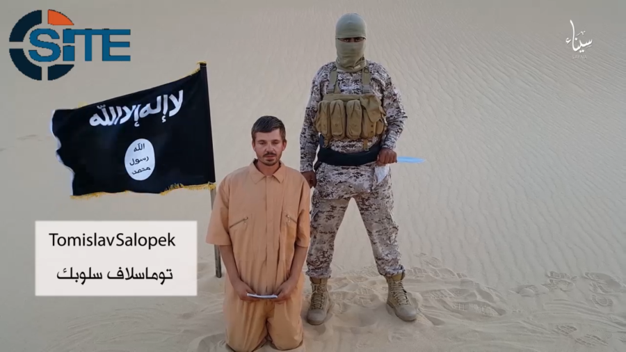 Islamic state in the sinai threatens to kill croatian hostage the islamic states branch in egypts sinai province or wilayat sinai has released a video showing a croatian hostage in an english language message sciox Choice Image