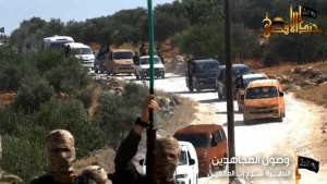 15-09-18 Jund al Aqsa fighters go off to the battle