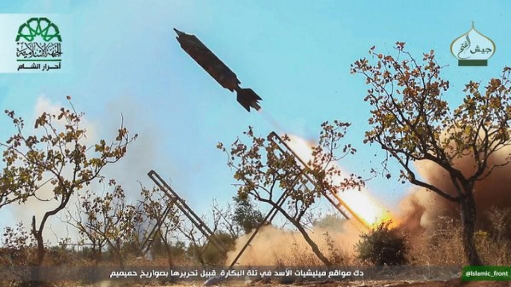 15-11-24 Ahrar al Sham fighting in Aleppo 1