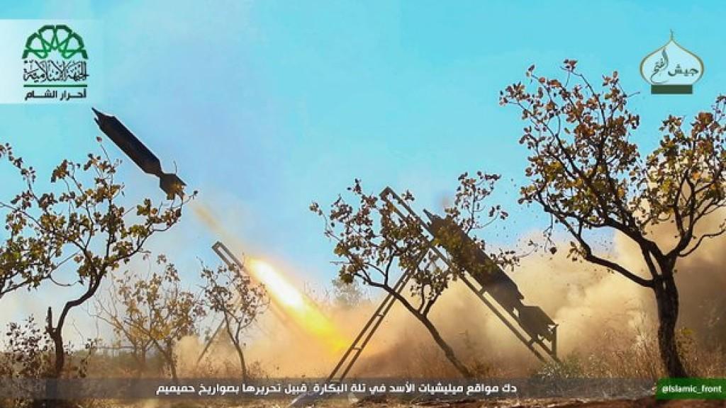 15-11-24 Ahrar al Sham fighting in Aleppo 2