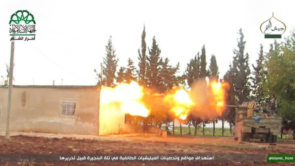 15-11-24 Ahrar al Sham fighting in Aleppo 3