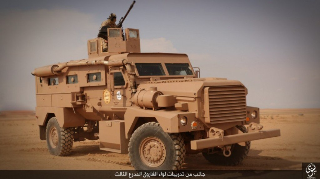 truck fuel tanks with Islamic State Trains With American Armored Vehicles In Iraq on Mack Trucks likewise Road trains also Winnebago View Class C Motorhome 2011 in addition 175179 1987 Chevrolet C10 K10 V10 K5 Silverado 1500 Custom Deluxe 4x4 1986 1985 1984 additionally 1947 1954 Short Box Chevy Truck Bolt On S 10 Frame Swap Chassis Swap Conversion Kit.