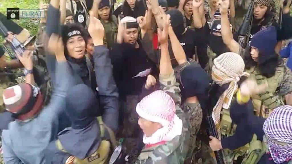 Philippines-based jihadist groups pledge allegiance to the ...