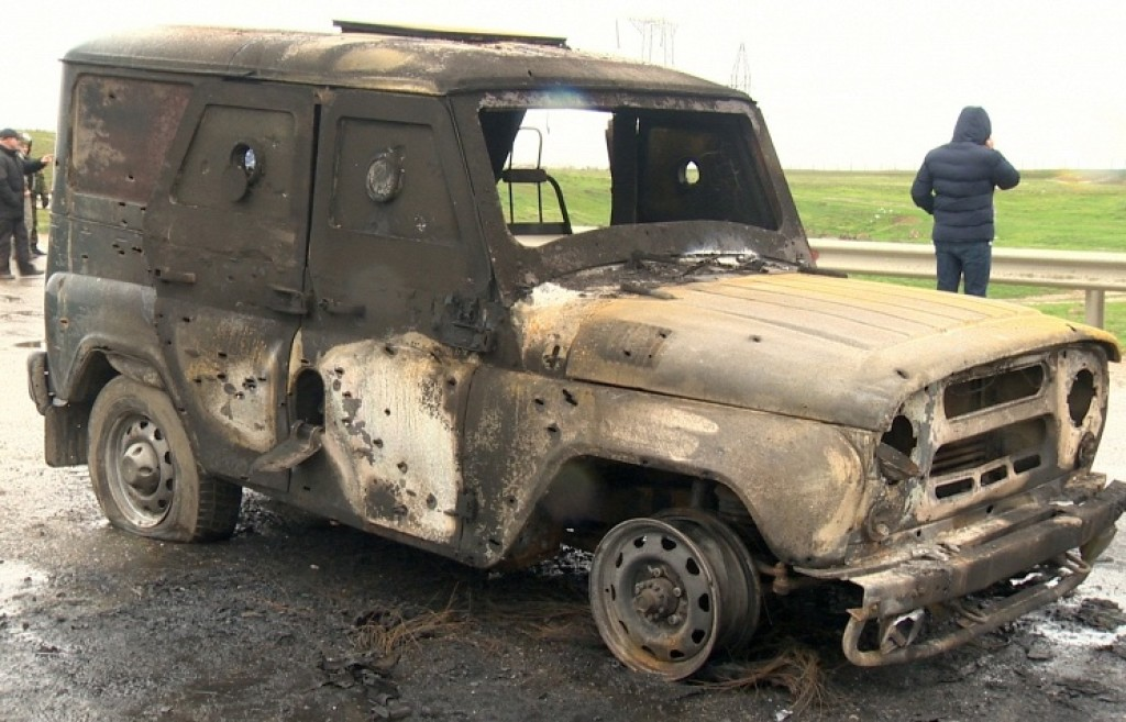 16-03-30 Vehicle blown up in attack in Dagestan