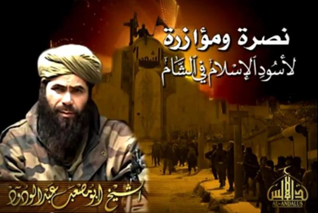 Droukdel praises Jaysh al Fath and Nusra