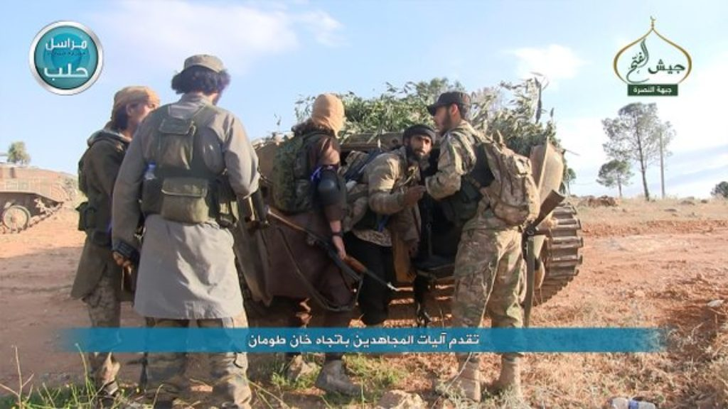 16-05-05 Nusra making progress in Khan Tuman as part of Jaysh al Fath 1