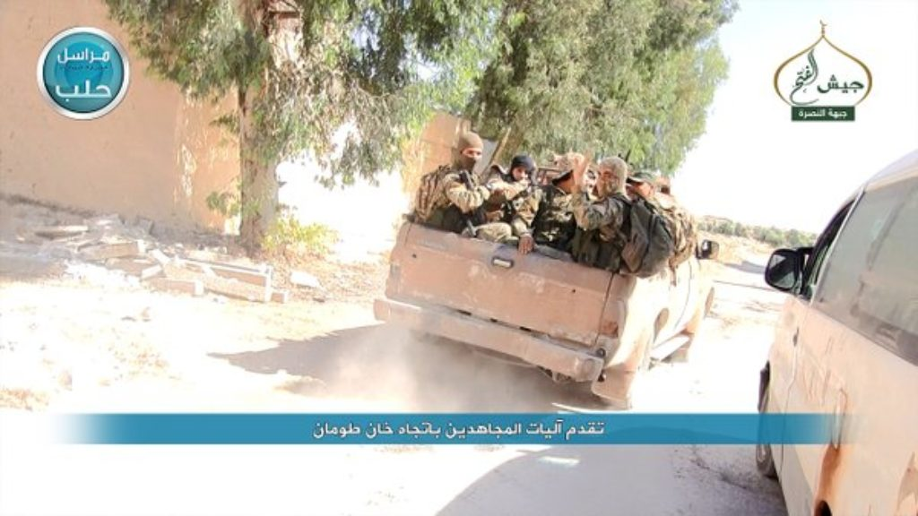 16-05-05 Nusra making progress in Khan Tuman as part of Jaysh al Fath 2