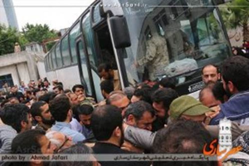 2 IRGC 25th Karbala Division soldiers returning home