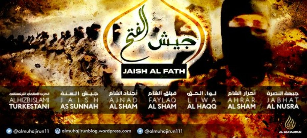 Banner from Al Muhajirun Twitter feed