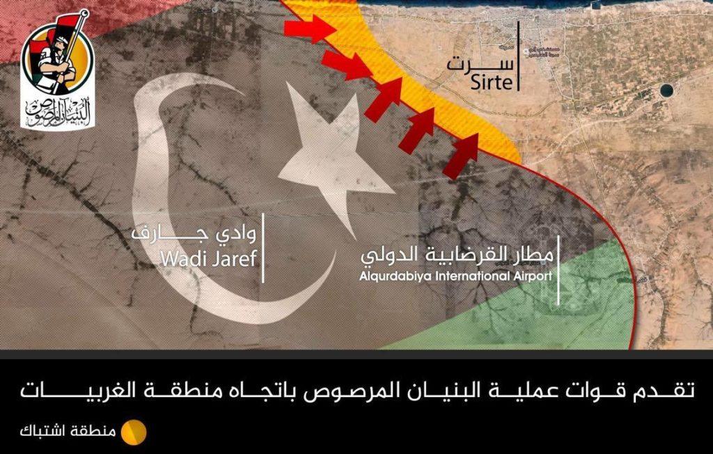 16-06-04 Capture of the Qardabiyyah Airport and push into Sirte