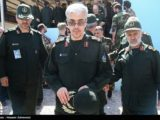 IRGC Major General Mohammad Bagheri at a meeting of senior commanders.