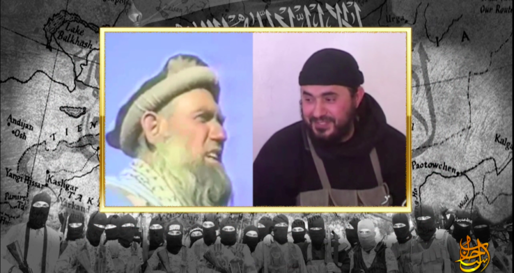 16-07-02 2 Clip of Abdullah Azzam and Abu Musab al Zarqawi