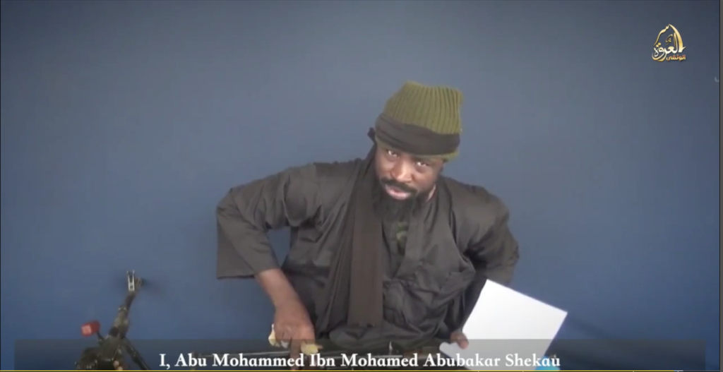 Shekau screen shot
