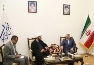 Alaeddin Boroujerdi, chairman of the National Security and Foreign Policy Parliamentary Commission, met with Akram al Kabi On Aug. 29.