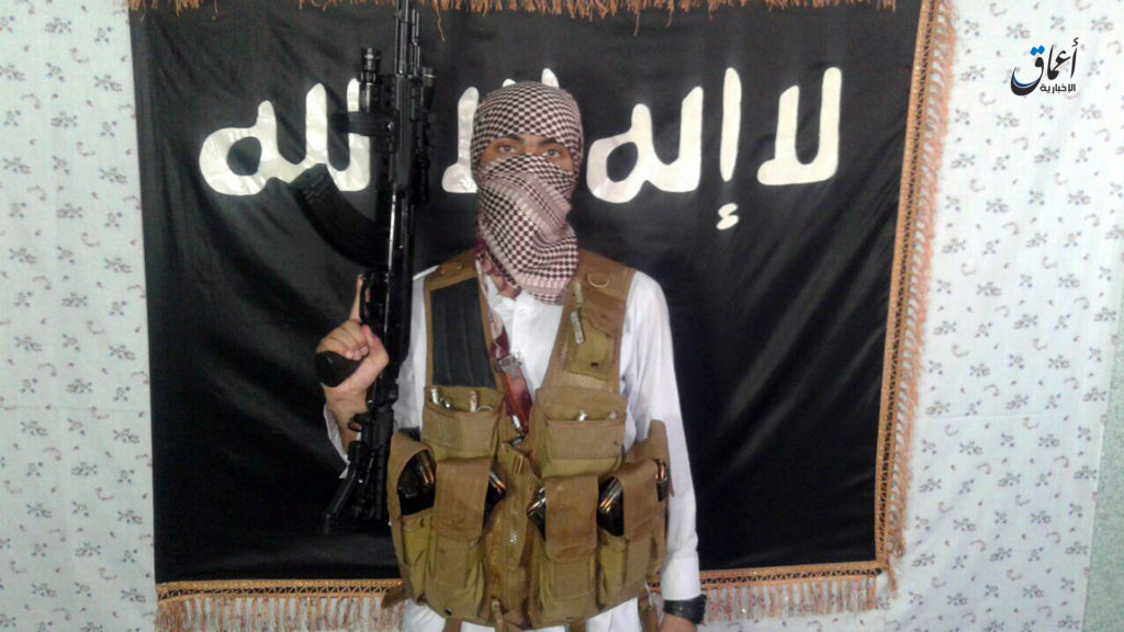 Photograph of Ali Jan, the Islamic State Khorasan province fighter who attacked a Shia shrine in Kabul.
