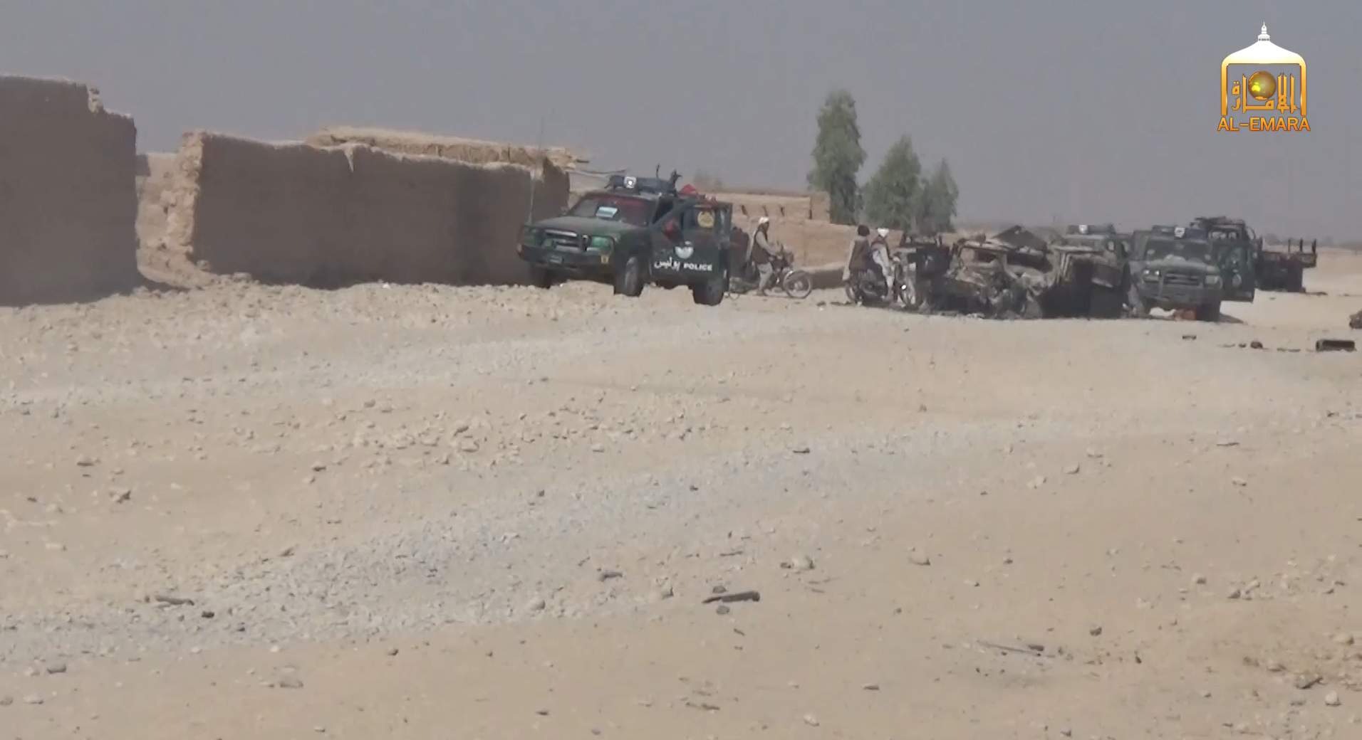 Taliban ambush