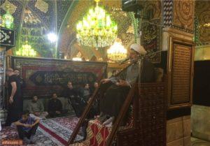 Hojjat al Eslam Ali Shirazi, the supreme leader's representative in the IRGC-QF, delivered remarks in Damascus, Oct. 5.