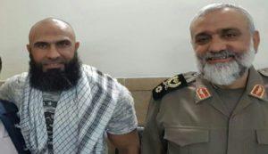 Abu Azrael and IRGC Photo 4. Basij chief Mohammad-Reza Naghdi.