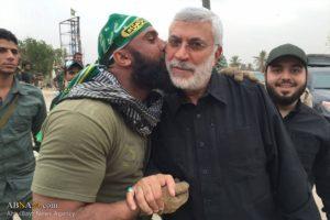 Photo 1. Abu Azrael and Abu Mahdi al Muhandis.