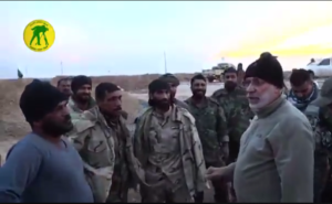 PMF operations commander Abu Mahdi al Muhandis in Tal Afar airport, posted on Nov. 20.