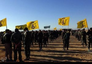 Photo 1. Afghan Fatemiyoun Division forces near Palmyra. Credit: Tasnim News.