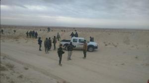 Photo 5. Iraqi Imam Ali Brigades near Palmyra, Dec. 8, according to pro-regime social media post.