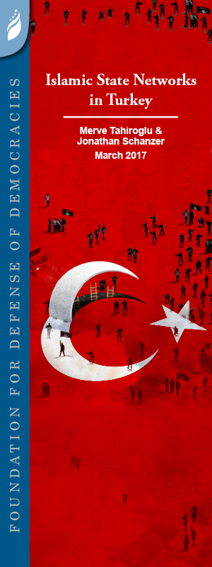 Report Cover: Islamic State Networks in Turkey