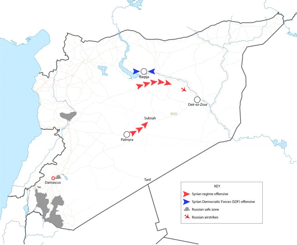 Analysis The Syrian regimes offensive towards Deir Ezzor FDDs