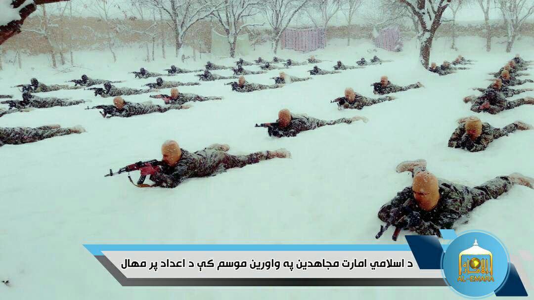 Taliban-Omar-Ibn-Khattab-camp-snow-2 | FDD's Long War Journal