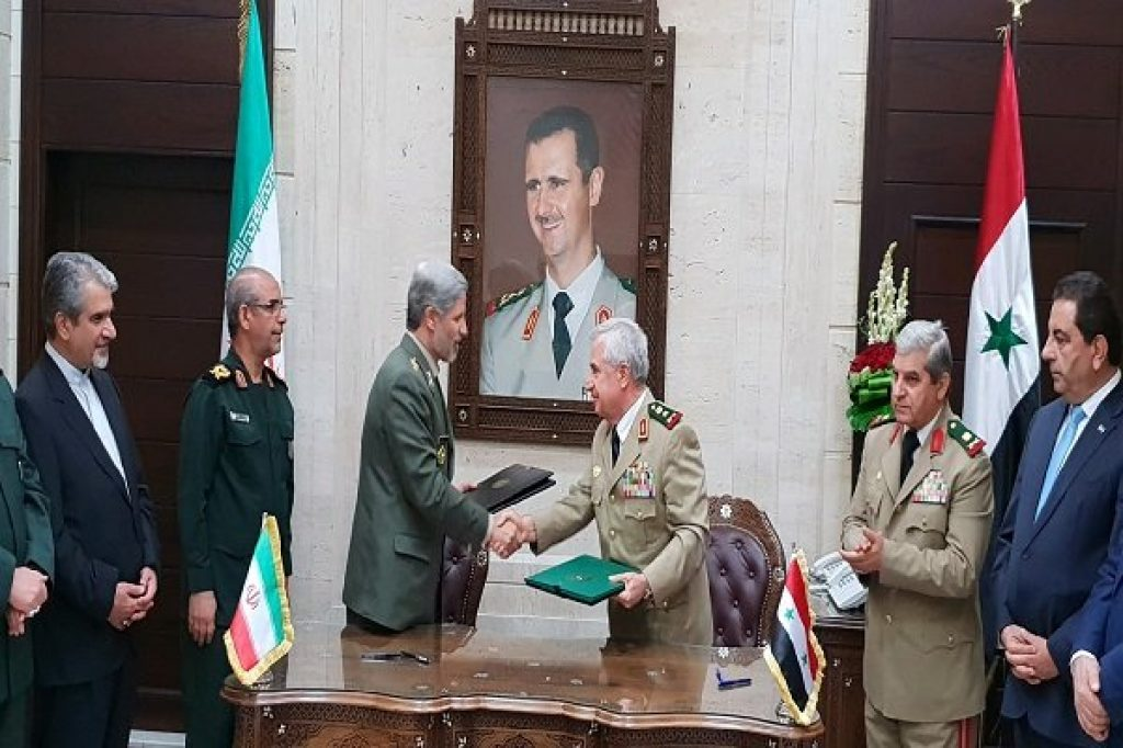 Official Iran Syria Military Agreement Highlights Symbiotic