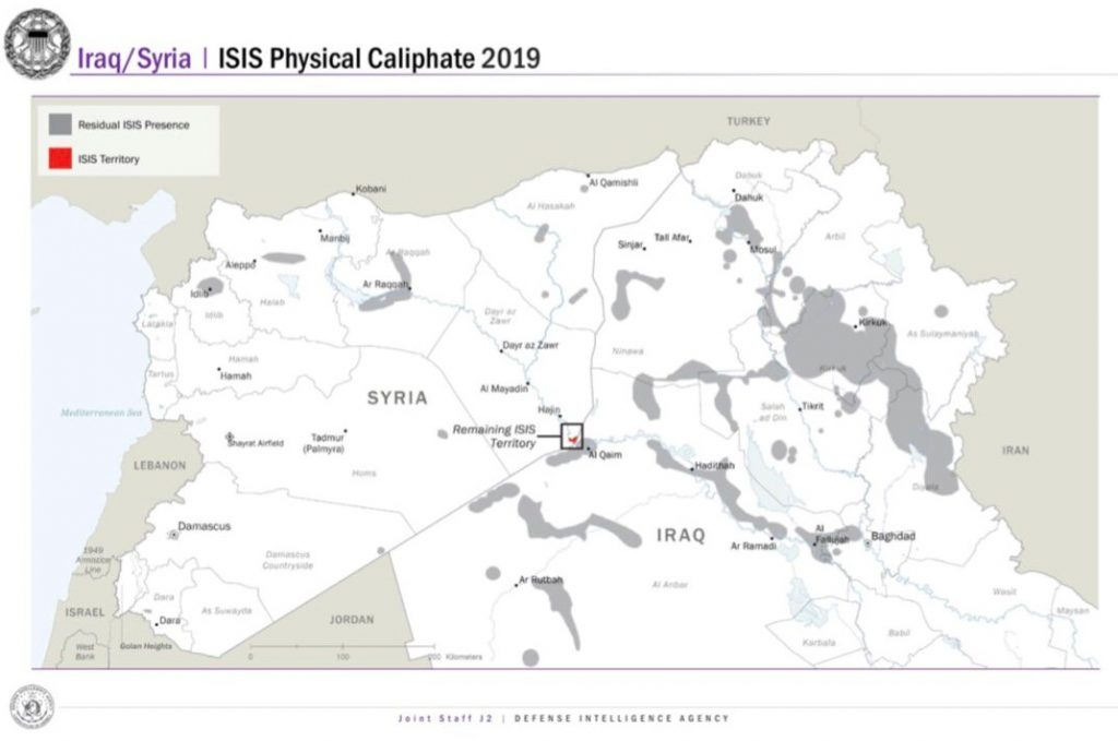 US-backed forces declare end to Islamic State\'s physical caliphate ...