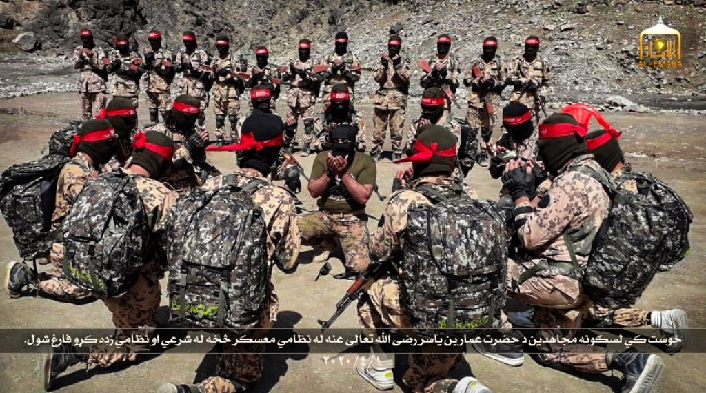 Taliban touts more elite 'Red Unit' fighter training on social media   FDD's Long War Journal