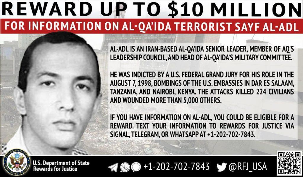 U.S. identifies additional al Qaeda leaders in Iran | FDD's Long War Journal